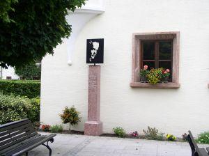 Romy Schneider Denkmal