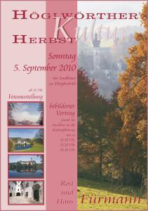 Kulturherbst am Höglwöther See im Berchtesgadener Land