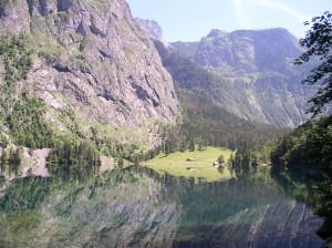 Obersee mit Fischunkelalm