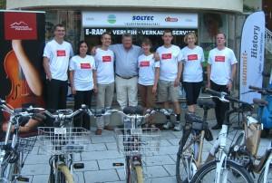 das 5. Mal dabei: Team Philharmonie, gefördert von Soltec-Solartechnik Elektromobilität