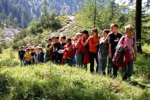 Langeweile in den Sommerferien muss nicht sein! Der Nationalpark Berchtesgaden bietet in den großen Ferien ein umfangreiches Angebot an Veranstaltungen für Gäste jeden Alters.