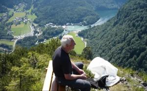Grünstein Panorama auf den Königssee