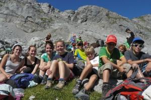Kinderwanderung des Nationalparks durchs Steinerne Meer