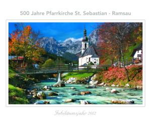 Jubiläumskalender St. Sebastian Ramsau