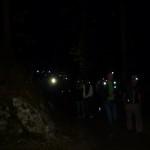 Ankunft der 24 Stunden Wanderer im Zauberwald