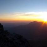 Sonnenaufgang am Watzmann von Steve Auch