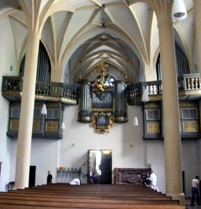 Orgel der Stiftskirche Berchtesgaden