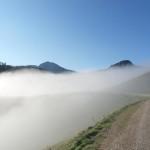 Auf dem Weg zur Kallbrunnalm von Lisa Graf Riemann