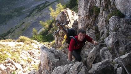 Martin Schaumann von Bergsport Geistaller
