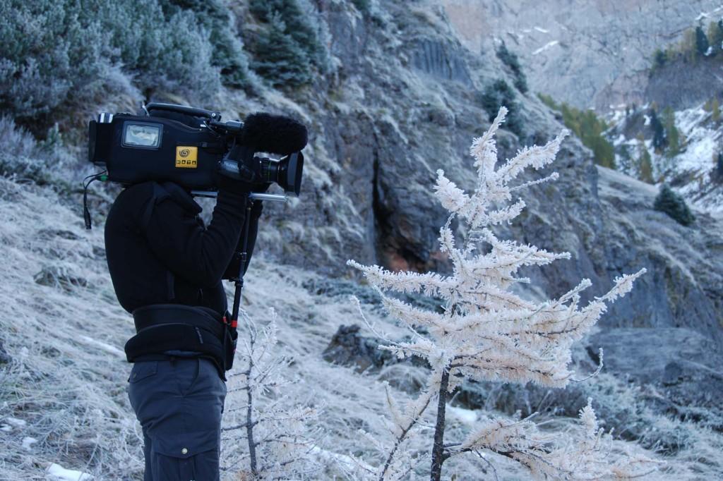 Kalter Dreh bei minus 9°