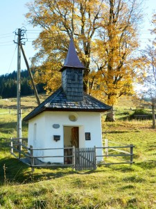 Helln-Kapelle am Hochschwarzeck Ramsau