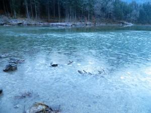 Eis am Hintersee