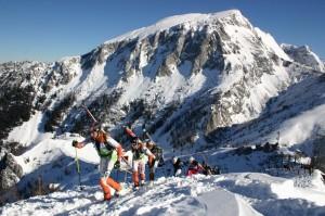 Deutscher Skitourencup am Jenner