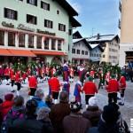 Die Schäffler am Weihnachtsschützenplatz ©Dominik Handl Photography