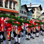 Die Schäffler am Weihnachtsschützenplatz Berchtesgaden ©Dominik Handl Photography