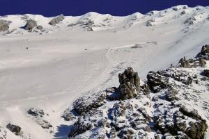 Schneebrett Steintalhoerndl