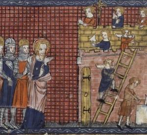 Hl. Valentin Bischof von Terni mit Gefährten