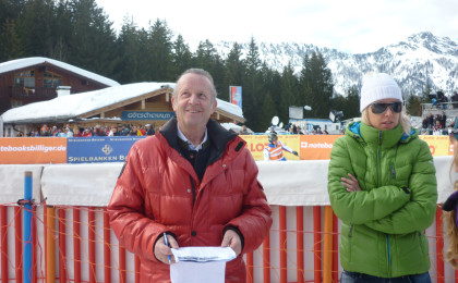 Robert Seeger beim Ski Cross