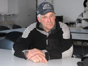 Streckenchef Werner Böhm
