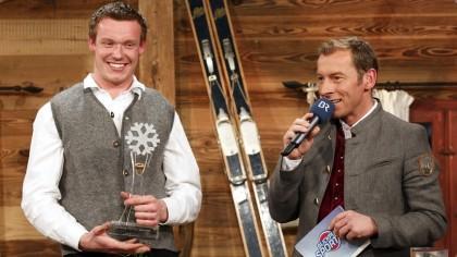 Felix Loch mit Moderator Markus Othmer