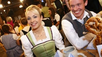 Magdalena Neuner und Felix Loch ©www.br.de