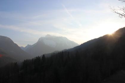 Sonnenuntergang Hochkalter