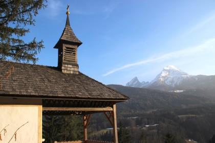 Watzmann und Bachmannkapelle