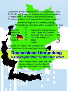 In 74 Etappen rund um Deutschland