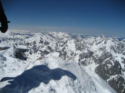 Gipfelblick vom Watzmann Hocheck