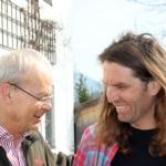 Nationalpark Leiter Dr. Vogel und Thomas Huber