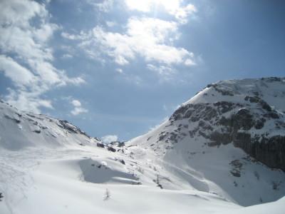 Reinersbergerbrückerl Steinernes Meer Skitour