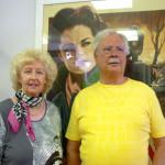 Sammlerin Gisela Schubert mit Mann