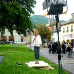 BR Wetterfee Astrid Hofman live aus Berchtesgaden