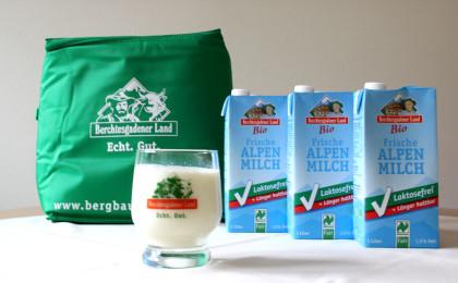 Laktosefreie Bio Alpenmilch
