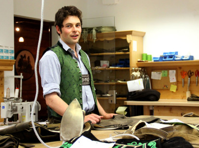 Milieustudie Lederhosenmacher Engelbert Aigner