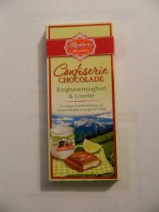Bergbauermilch & Limette Schokolade