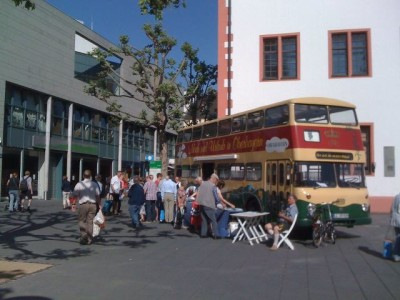 Die Buspromotion in Mainz