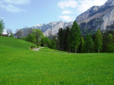 Radweg von Hallthurm nach Winkl