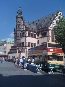Die Buspromotion in Schweinfurt