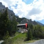 Die Wimbachgrieshütte im Wimbachtal