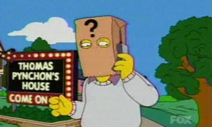 Thomas Pynchon bei den Simpsons