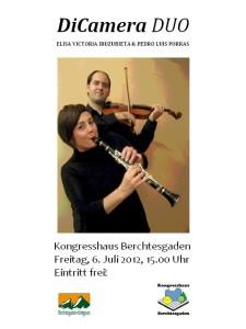 DiCamera Konzert im Kongresshaus Berchtesgaden