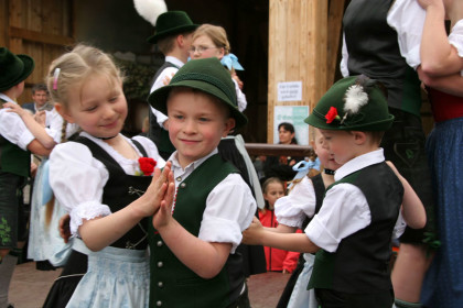 Kindergruppe der Grenzlandler Laufen