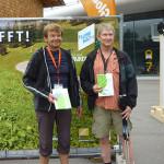 2 Teilnehmer freuen sich auf die nächsten 24 h beim BGL-Wander-Festival