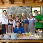 Beim Mauthäusl in Weißbach gibts selbstgebackenes Brot für die Wanderer