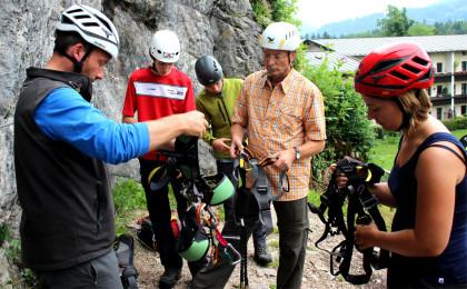Ausrüstungscheck mit Bergführer