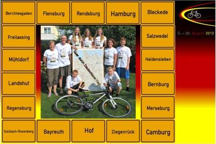 Quer durch Deutschland Tour