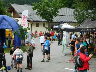 Publikum bei den Klettersteigtagen