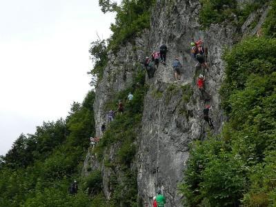 Klettersteig am Hanauerstein