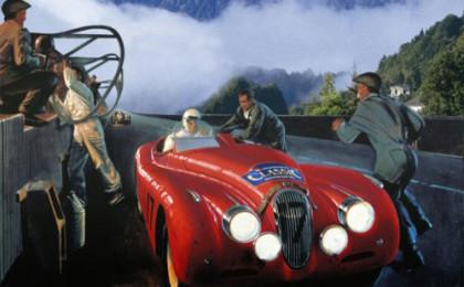 Württembergische Classic Oldtimer Rallye im Berchtesgadener Land